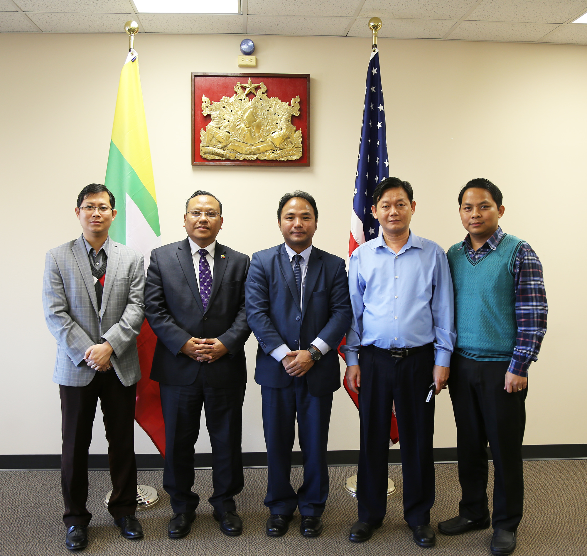 Myanmar Students And Professionals Network Usa Elishes Chapters On The West Coast
