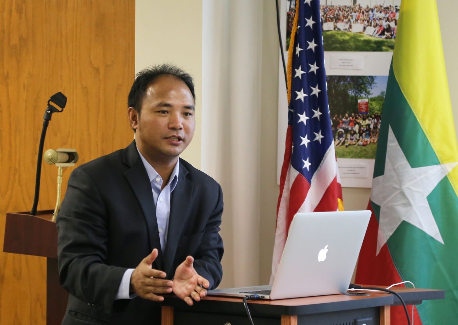 Myanmar Youth Leaders In Usa Discuss The Future Of Their Country